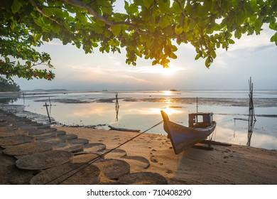 Sunset at Bintan Island