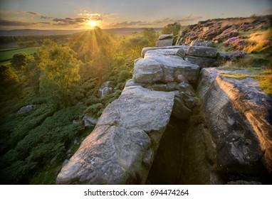 Sunset at Birchen Edge, Peak District
