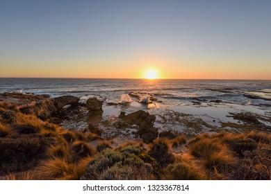 Sunset at Blairgowrie Back Beach, Mornington Peninsula