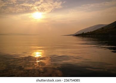 Sunset at Bol, Brac, Groatia