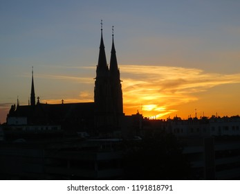 Bonn Beuel Germany Rhine Bank Stock Photo Edit Now 1104394016