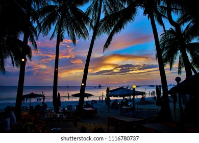 Sunset in Boracay Phillipines