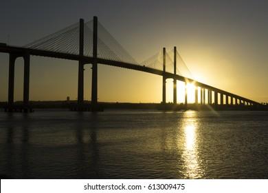 Sunset - Bridge Newton Navarro - Natal, Brazil