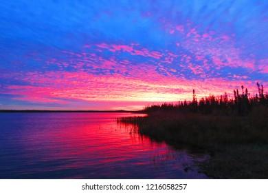 Sunset British Columbia