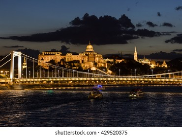 Sunset in Budapest, Hungary