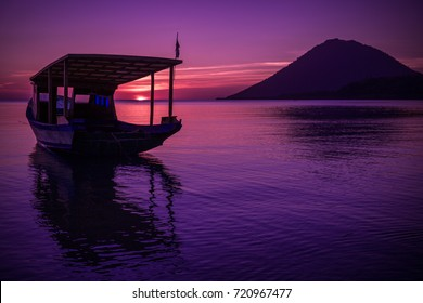 Sunset at Bunaken, Manado - North Sulawesi, Indonesia