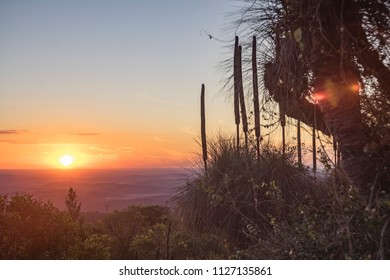 sunset from Bunya mountains national park