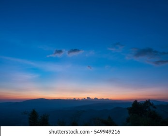Sunset Burning Down
