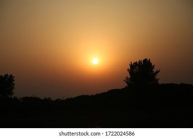 Sunset by the Tai Lake