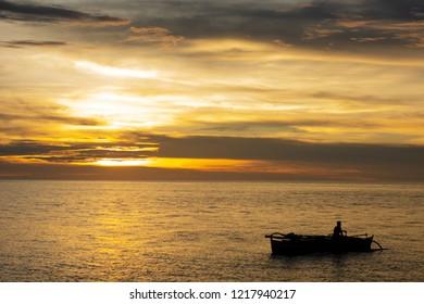 Sunset in Camiguin Philippines