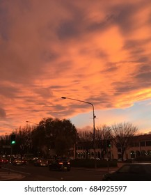 Sunset in Canberra