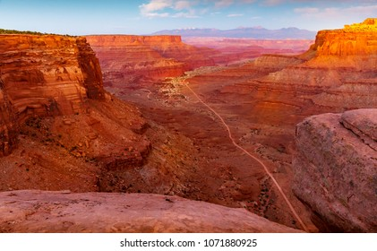 Sunset at Canyonlands National Park Utah