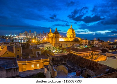 Sunset in Cartagena Bolivar, Colombia
