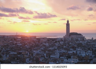Sunset in Casablanca