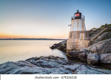Sunset at Castle Hill Lighthouse on Newport, Rhode Island 5
