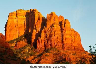 Sunset at Cathedral Rock in Sedona Arizona