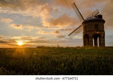 Sunset at Chesterton Windmill, Warwickshire, UK