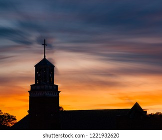 Sunset At the Church