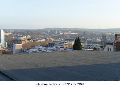 Sunset Cityscape of Bristol, United Kingdom, Europe