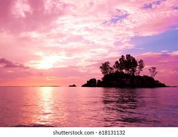 Sunset Coast Sea