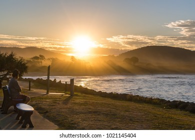Sunset at Crescent Head, New South Wales