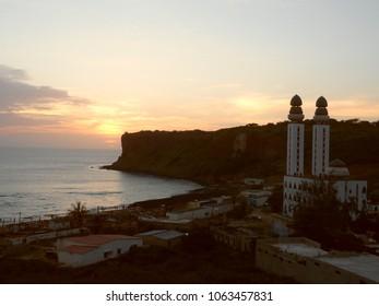 SUNSET IN DAKAR, SENEGAL