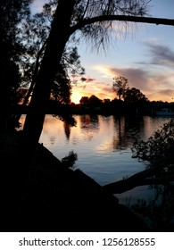 Sunset Dawson River Campground Taree Australia