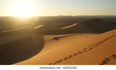 Sunset in the desert 2