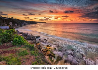 Sunset at Dreamland Beach, Pecatu, Bali, Indonesia