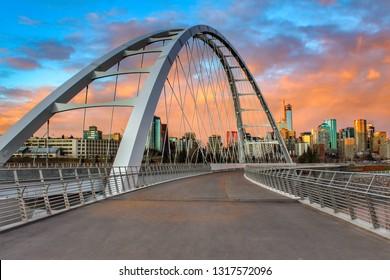Sunset Edmonton City