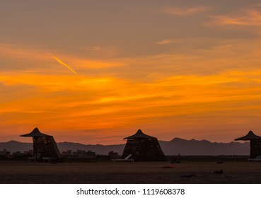 Sunset in el gouna