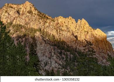 Sunset In Eldorado Canyon State Park