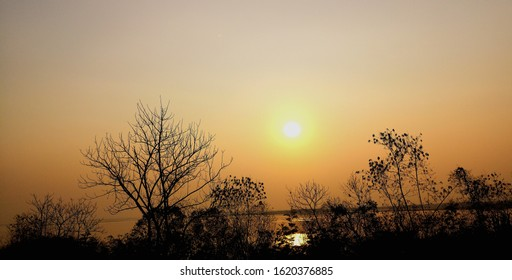 Sunset in the evening Beautiful light - Shutterstock ID 1620376885