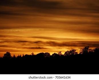 Sunset, Evening Mood