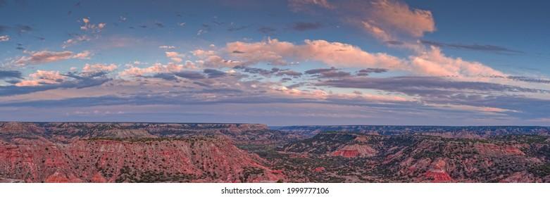 Sunset Explosion over Palo Duro Canyon - Amarillo Texas Panhandle