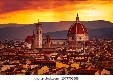 Sunset in florence, a fantastic place.