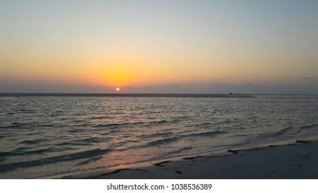 Sunset at Fort DeSoto Park, North Beach (St. Petersburg - FL - USA)