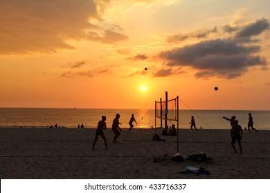 Sunset game
