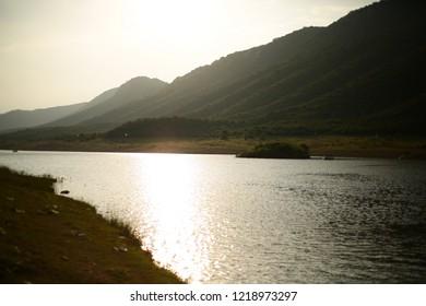 Sunset at Ghora Katora, Rajgir