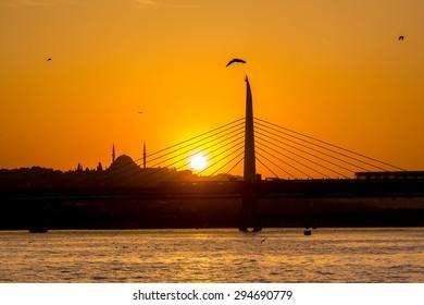 Sunset at Goldenhorn