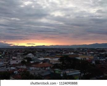 Sunset in Gorontalo City