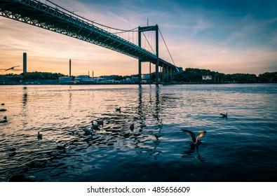 Sunset in Gothenburg, Sweden