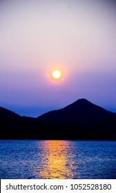 sunset in goto island