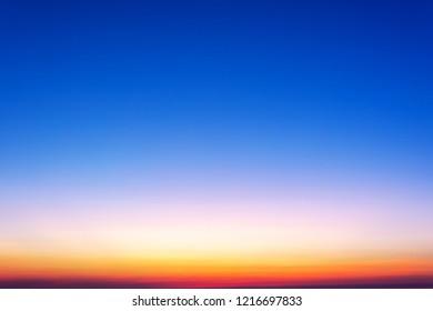 Sunset gradient background