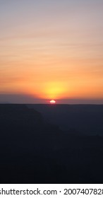 Sunset In Grand Canyon National Park, North Rim, Califronia