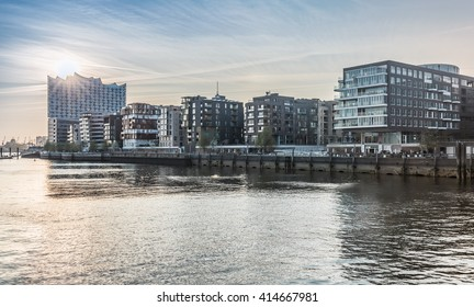 Sunset at Hafencity HDR