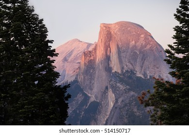 Sunset at Half Dome, Yosemite National Park