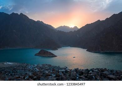 Sunset at Hatta