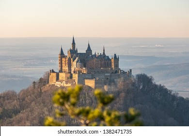 Sunset at Hohenzollern Castle, Germany