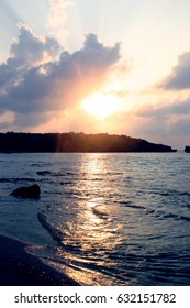 Sunset in Iriomote Island